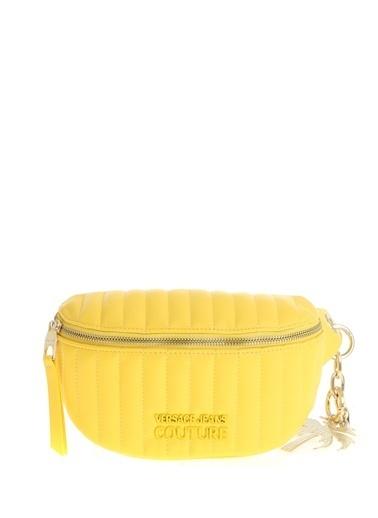Versace Jeans Bel Çantası Sarı